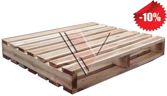 giá pallet gỗ 2 hướng nâng 2c3