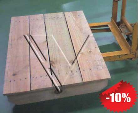 giá pallet gỗ 2 hướng nâng 2c5