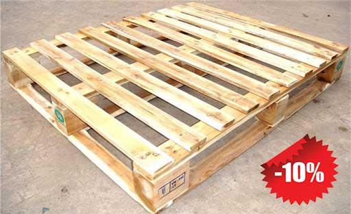 pallet gỗ 4 chiều nâng 1000x1200mm