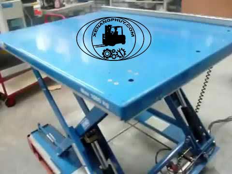 Bàn nâng thủy lực DDG 1000 kg