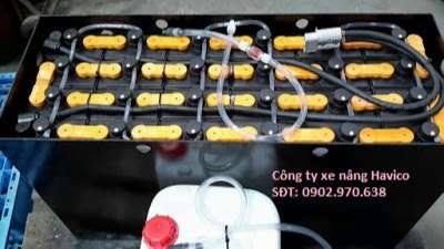 bình điện xe nâng gs yuasa