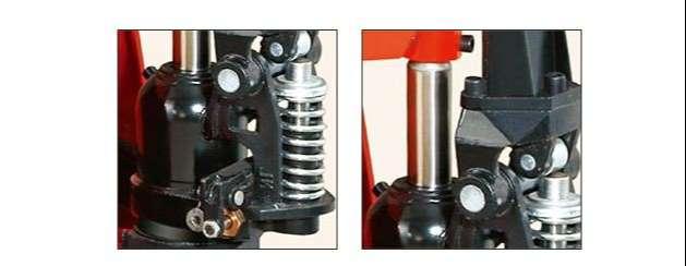 chi tiết sản phẩm xe nâng tay thấp HPT25S