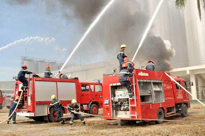 chữa cháy an toàn