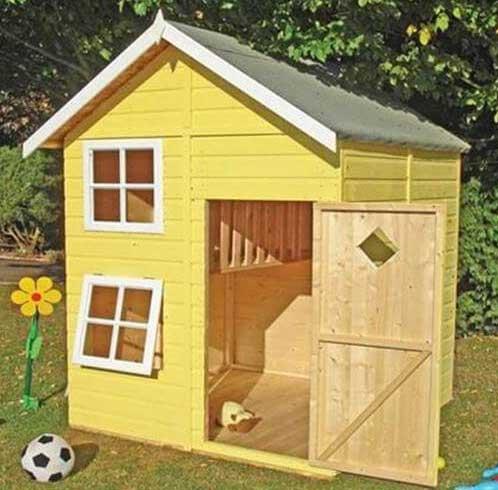 gỗ pallet làm nhà