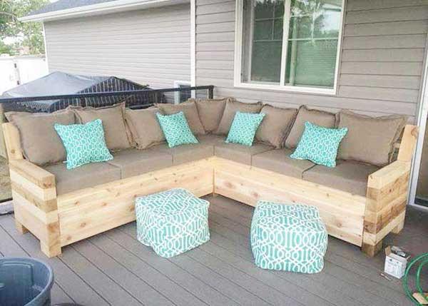 nội thất ghế gỗ pallet