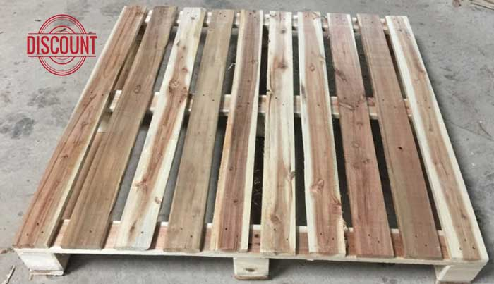 pallet gỗ 4 cổng