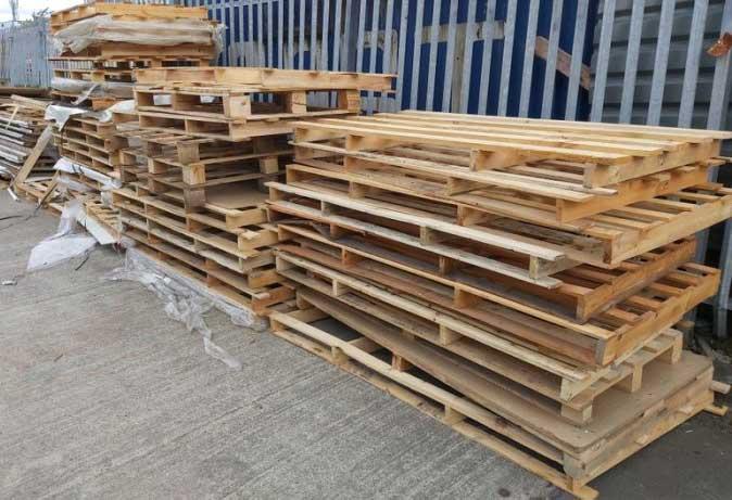 pallet gỗ làm giường