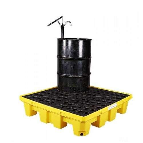 pallet nhựa chống tràn dầu mới