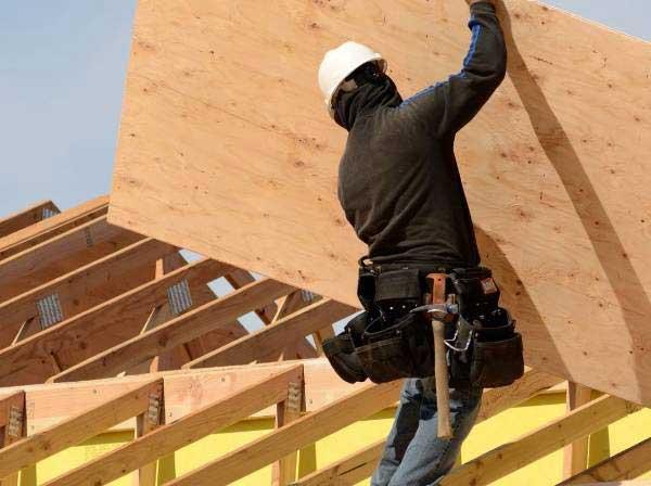 ứng dụng gỗ ván ép xây dựng