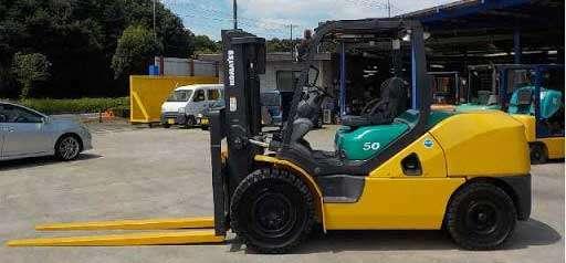 xe nâng dầu komatsu 5 tấn nhật bản