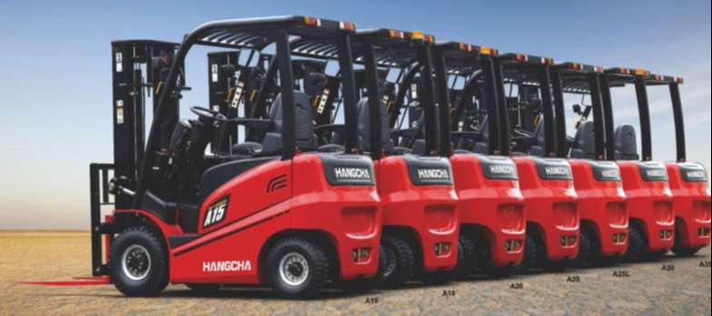 xe nâng điện Hangcha ngồi lái 1.5 tấn