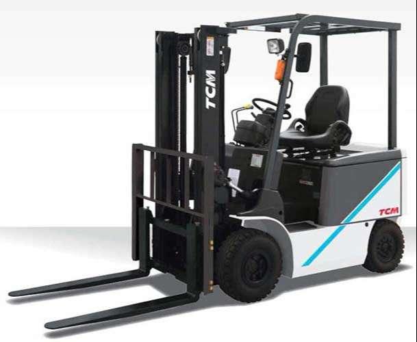 xe nâng điện Tcm tải trọng 1 tấn
