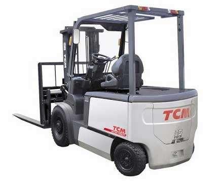 xe nâng điện tcm nhật bản ngồi lái 3.5 tấn