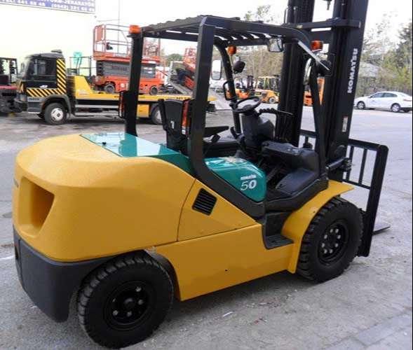 xe nâng hàng komatsu 5 tấn nhật bản