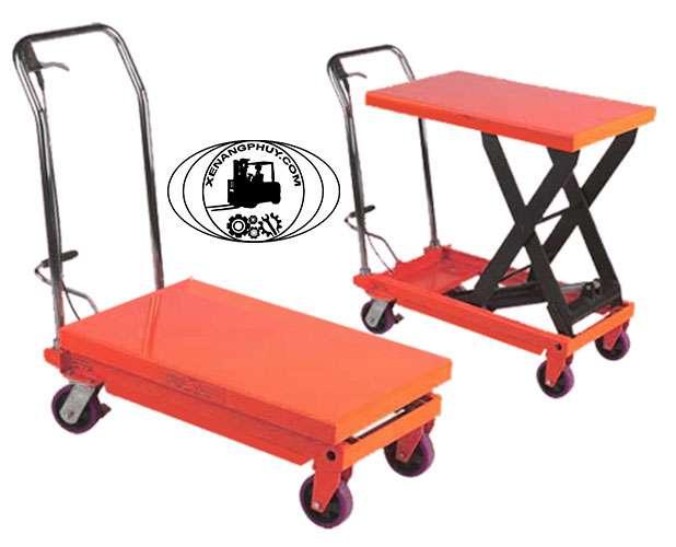 xe nâng mặt bàn 300kg